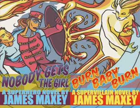Maxey superhero novels